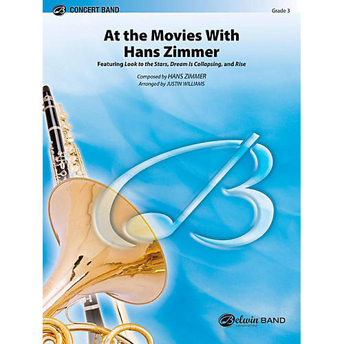 Alfred At the Movies with Hans Zimmer Concert Band Level 3 Set
