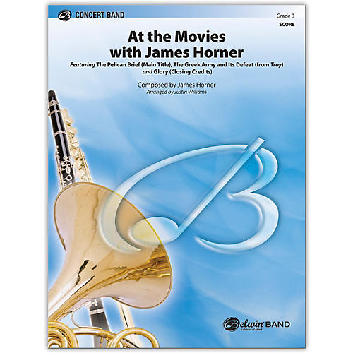 BELWIN At the Movies with James Horner Conductor Score 3 (Medium Easy)