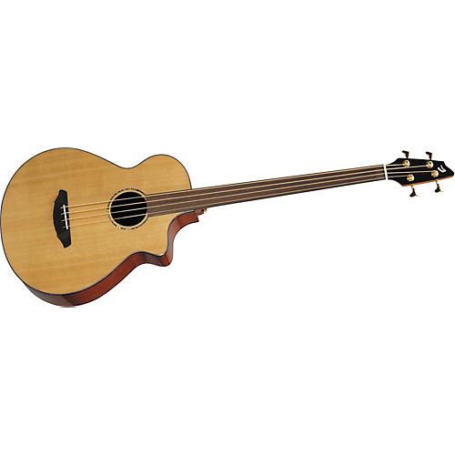 Breedlove Atlas ABJ25/CM4 Fretless 4-String Acoustic-Electric Bass