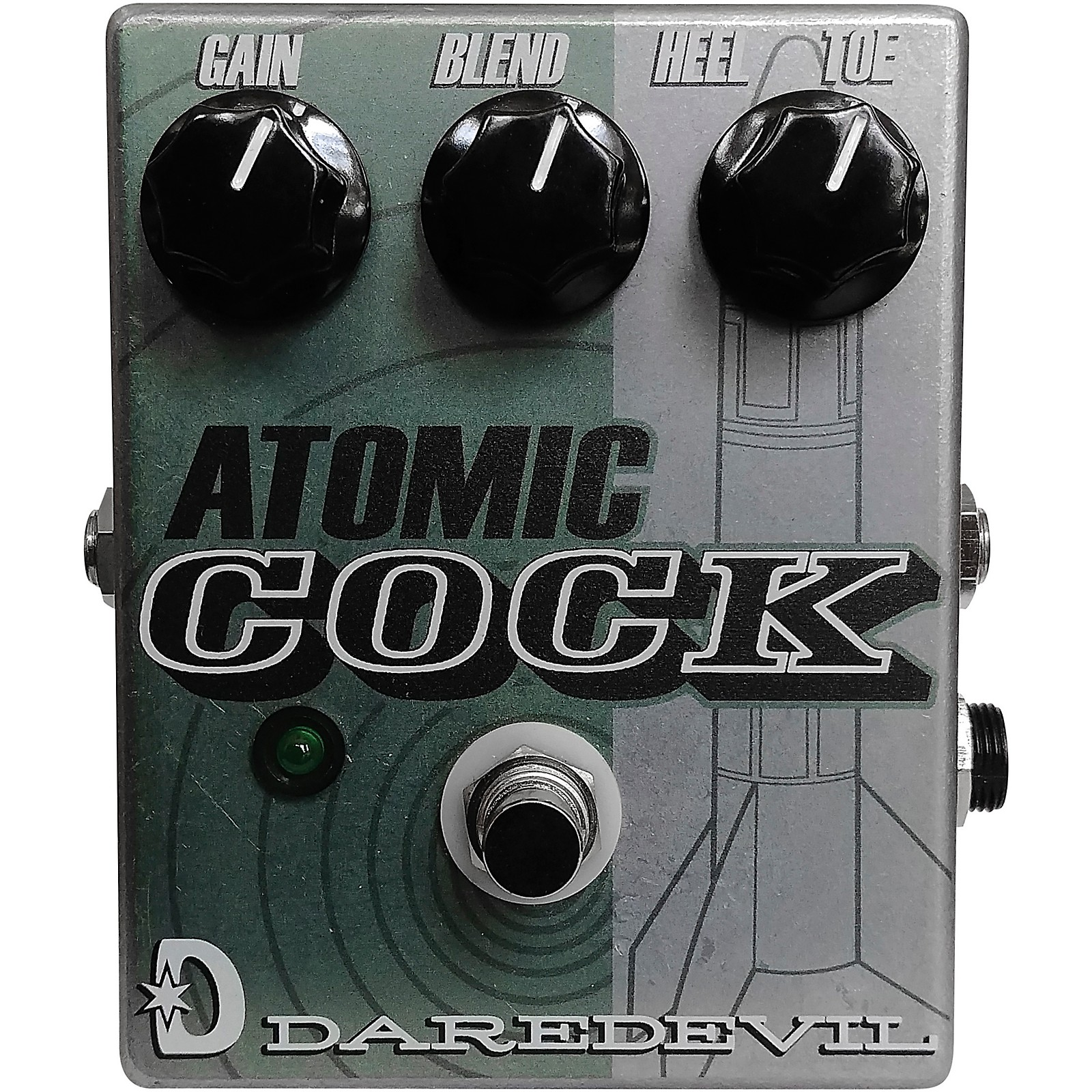 Daredevil Pedals Atomic Cock Fixed Wah Effects Pedal