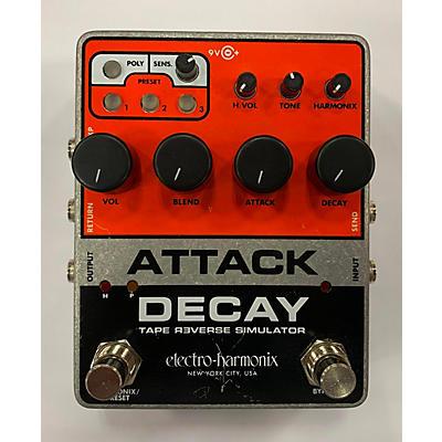 Electro-Harmonix Attack Decay Tape Reverse Simulator Effect Pedal