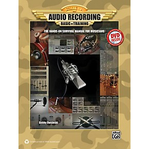 alfred audio recording boot camp book dvd rom musician 39 s friend. Black Bedroom Furniture Sets. Home Design Ideas
