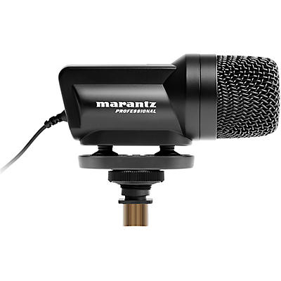 Marantz Professional Audio Scope SB-C2, X/Y Stereo condenser microphone for DSLR cameras