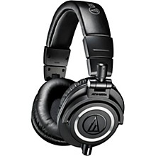 Audio-Technica ATH-M50x Closed-Back Professional Studio Monitor Headphones Black Black