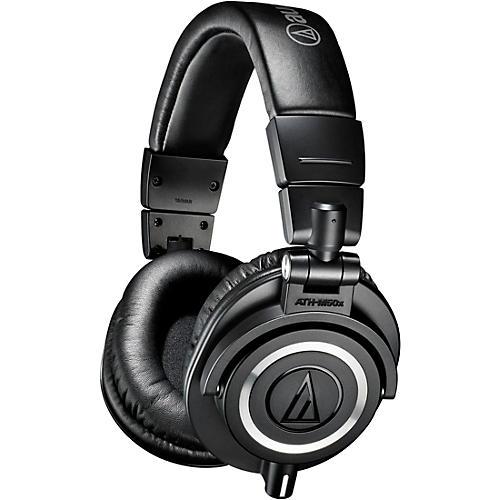 Audio-Technica Audio-Technica ATH-M50x Closed-Back Professional Studio Monitor Headphones Black