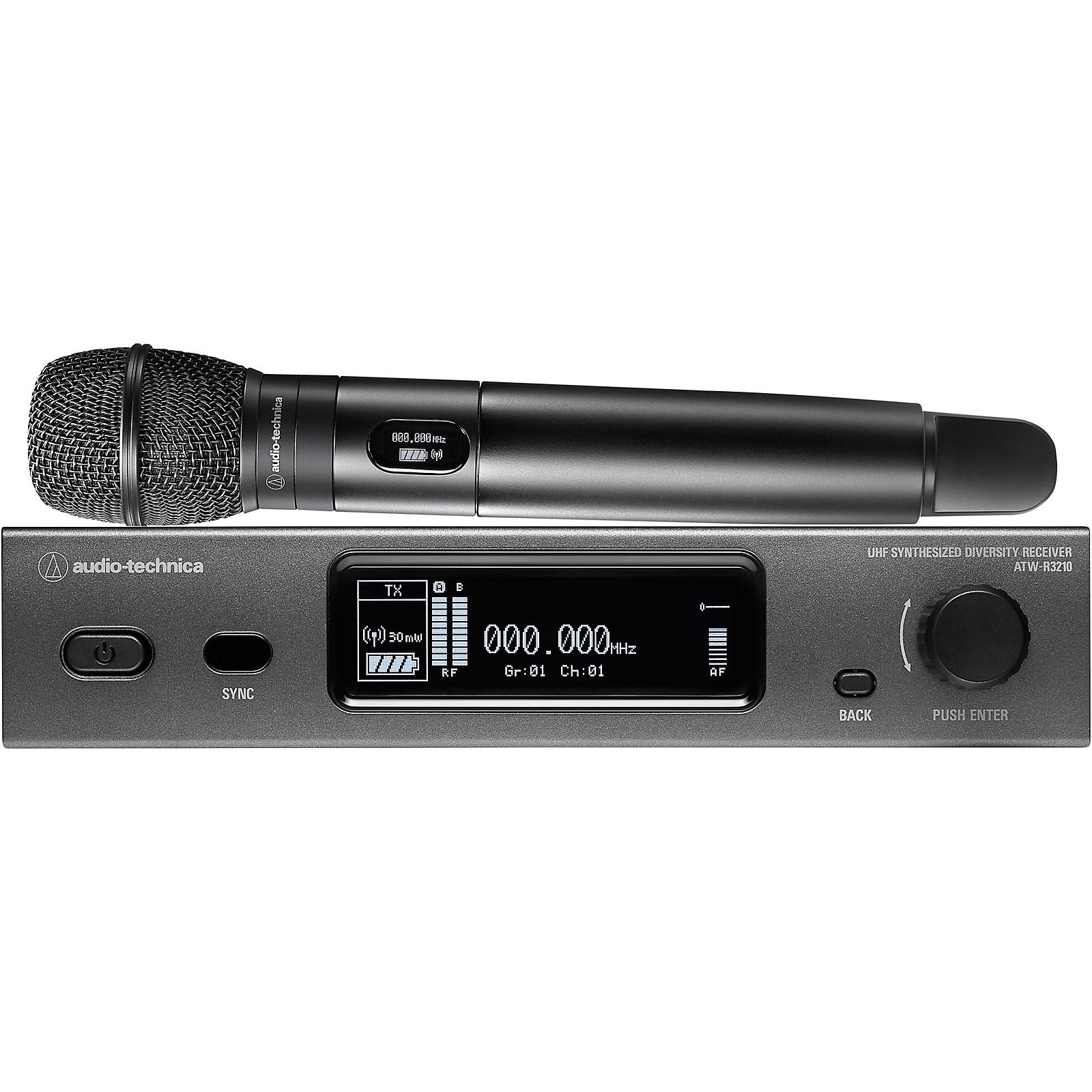 Audio-Technica Audio-Technica ATW-3212/C710 3000 Series Frequency-agile True Diversity UHF Wireless Systems