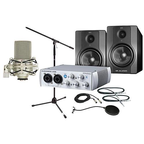 PreSonus AudioBox 2x2 BX5 Package
