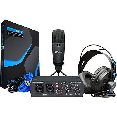 Presonus AudioBox 96 Studio Bundle, 25th Anniversary Edition