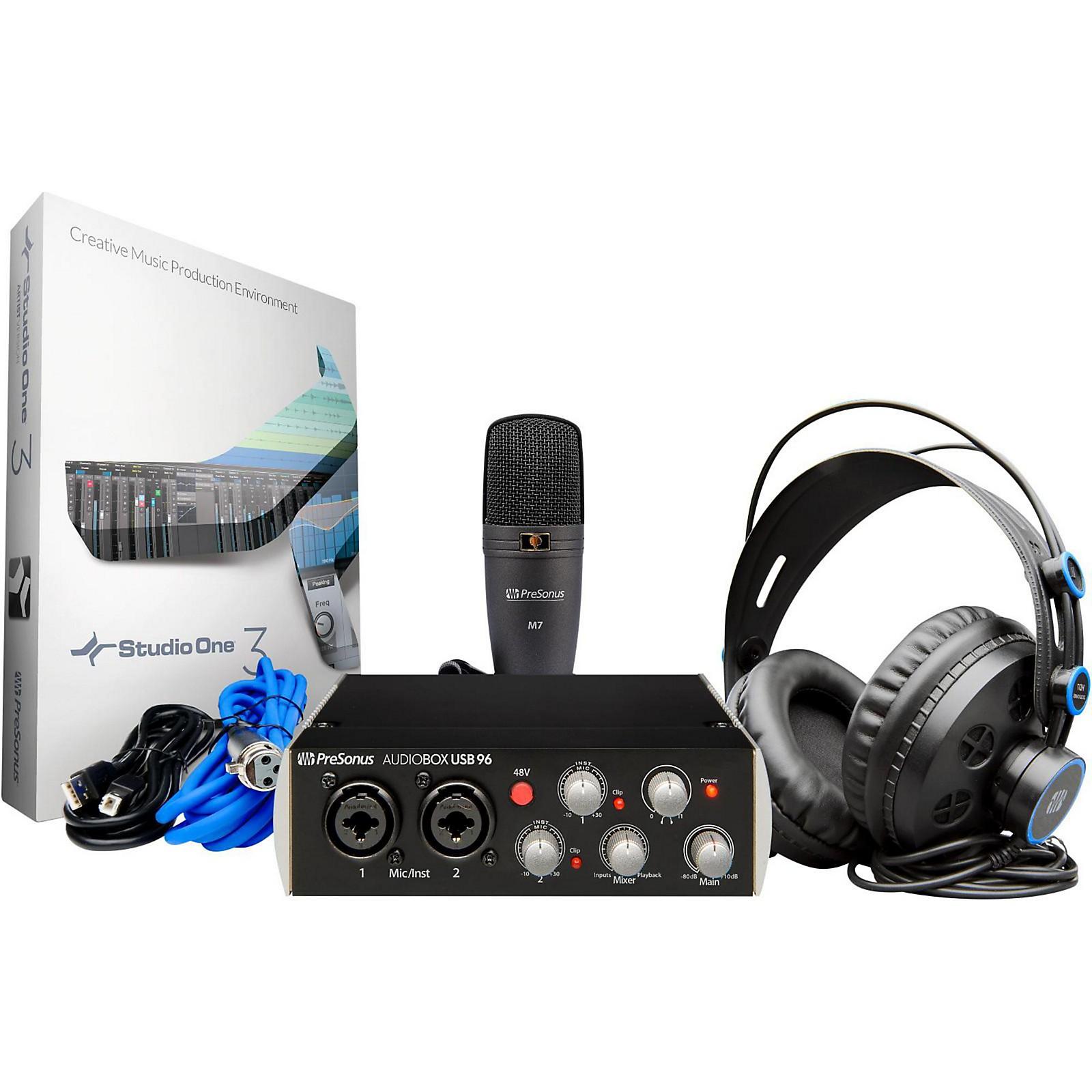 PreSonus AudioBox 96 Studio Package