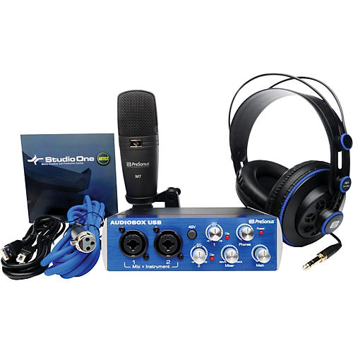 PreSonus AudioBox Studio Recording Bundle