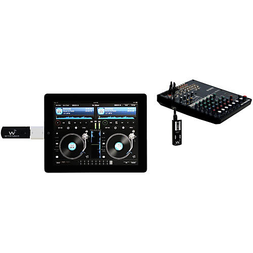 Wi Digital AudioLink Ui Stereo Digital Wireless System For  iPod, iPad, iPhone, MAC, PC, TabletPC & Skype