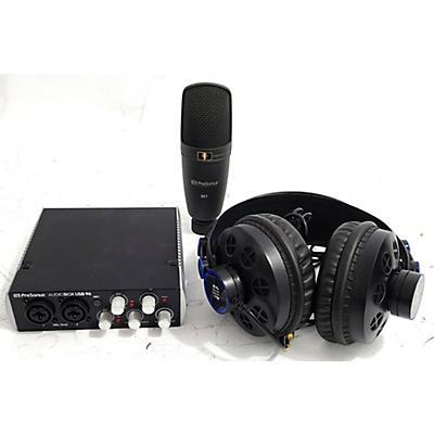 Presonus Audiobox 96 Studio Recording Microphone Pack