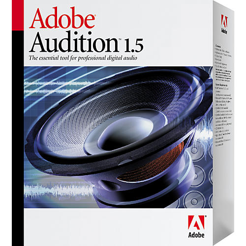 adobe audition 1 5 upgrade from audition 1 0 or cool edit pro 2 0 musician 39 s friend. Black Bedroom Furniture Sets. Home Design Ideas
