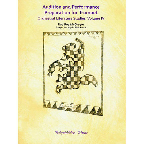 Carl Fischer Audition & Performance Preparation for Trumpet Voulme 4 Book