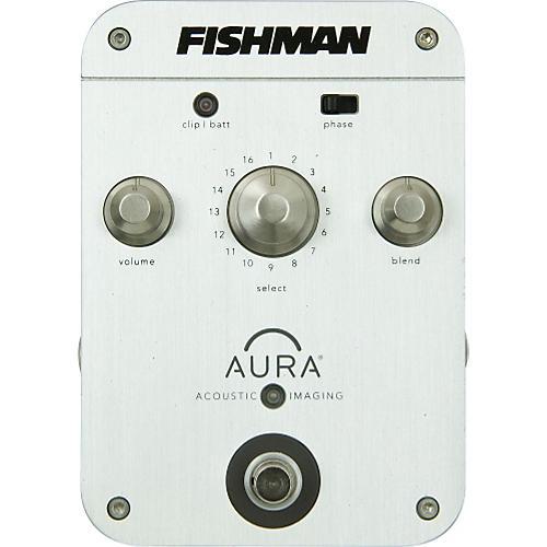 Fishman Aura Concert Acoustic Guitar Imaging Pedal