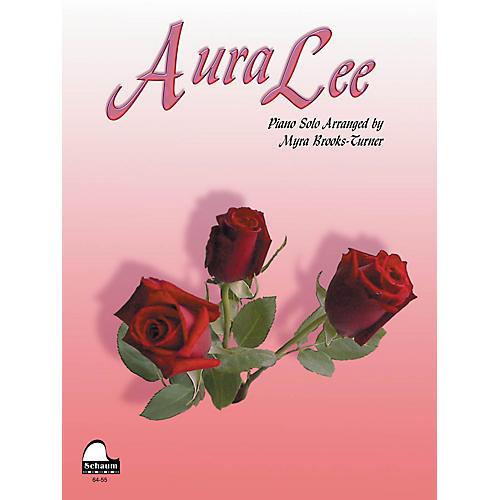 SCHAUM Aura Lee Educational Piano Series Softcover
