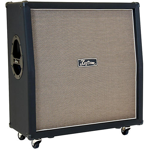 Kustom Auris 4X12 Celestion Loaded Angled Guitar Speaker Cabinet
