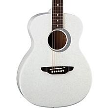 Open BoxLuna Guitars Aurora Borealis 3/4 Size Acoustic Guitar