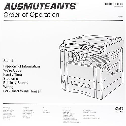 Alliance Ausmuteants - Order of Operation