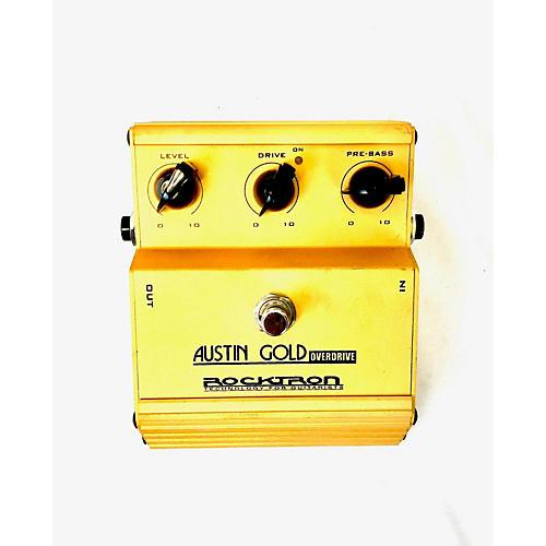 Austin Gold Effect Pedal