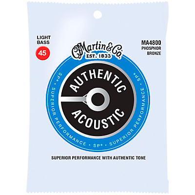 Martin Authentic Acoustic Phosphor Bronze Light Bass Strings