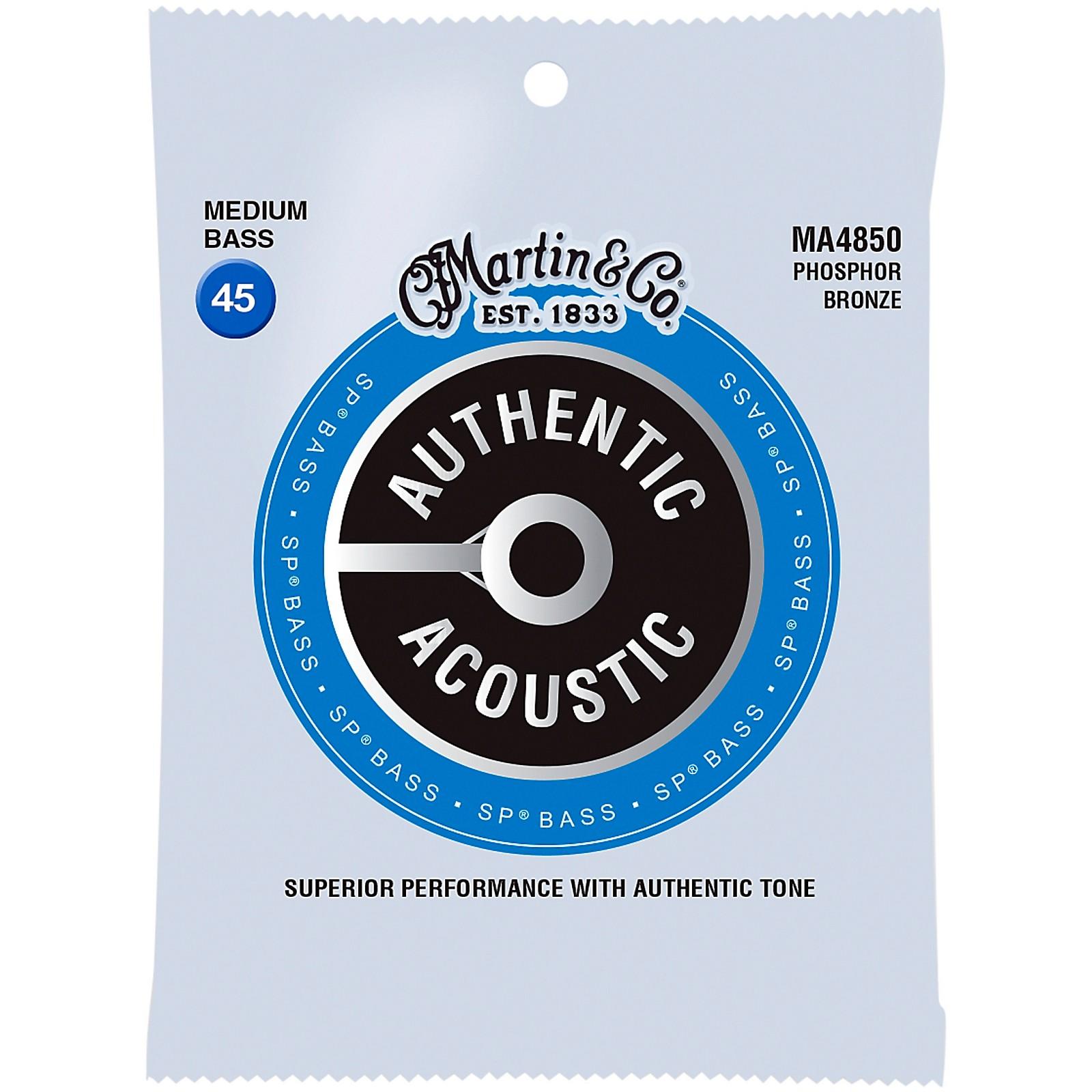 Martin Authentic Acoustic Phosphor Bronze Medium Bass Strings