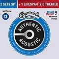 Martin Authentic Acoustic Value Pack Phosphor Bronze Medium Guitar Strings thumbnail