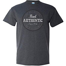 Authentic Tee Small Dark Gray