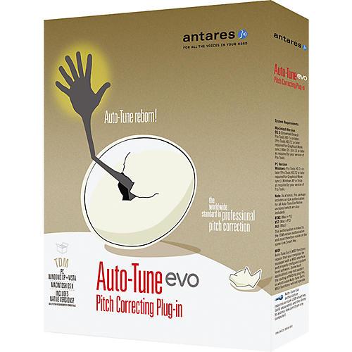Antares Auto-Tune Evo TDM Pitch Correcting Plug-In Software