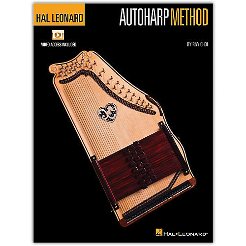 Hal Leonard Autoharp Method Book/Video Online