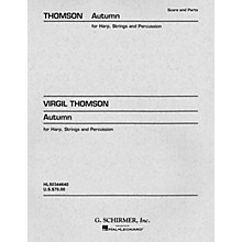 G. Schirmer Autumn (Concertino) (Set of Parts) Orchestra Series Composed by Virgil Thomson