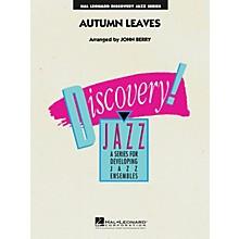 Hal Leonard Autumn Leaves Jazz Band Level 1.5 Arranged by John Berry