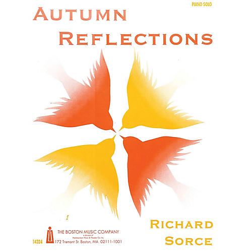 Music Sales Autumn Reflections Music Sales America Series Softcover Composed by Richard Sorce