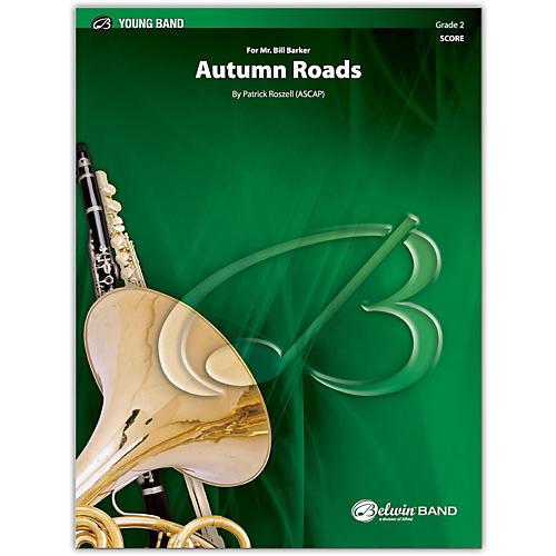 BELWIN Autumn Roads Conductor Score 2 (Easy)