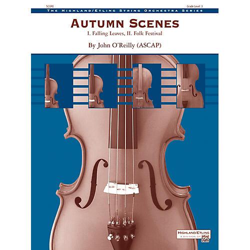 Alfred Autumn Scenes String Orchestra - Grade 3 Set