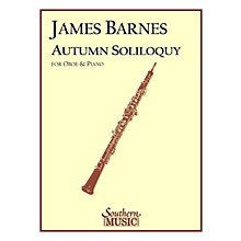 Southern Autumn Soliloquy (Oboe) Southern Music Series by James Barnes