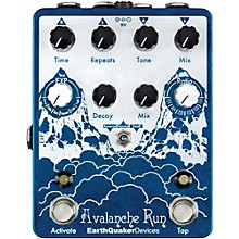 Open Box EarthQuaker Devices Avalanche Run - Stereo Delay & Reverb with Tap Tempo