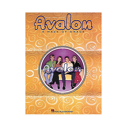Hal Leonard Avalon - A Maze of Grace Piano, Vocal, Guitar Songbook