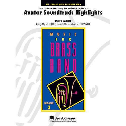 Hal Leonard Avatar Soundtrack Highlights - Festival Brass Parts (eu) Concert Band