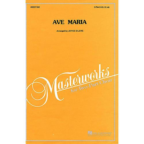 Hal Leonard Ave Maria 2-Part arranged by Joyce Eilers