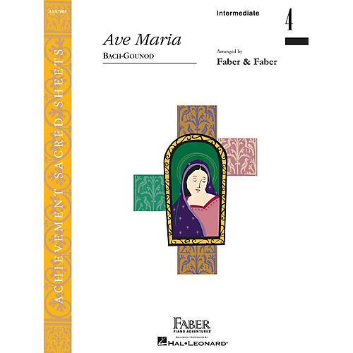 Faber Piano Adventures Ave Maria (Inter/Level 4 Piano Solo) Faber Piano Adventures Series by Johann Sebastian Bach