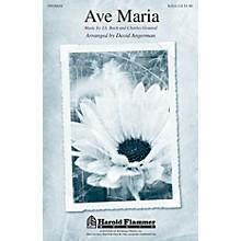 Shawnee Press Ave Maria SA with optional 2nd sop arranged by David Angerman