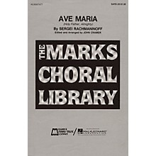 Edward B. Marks Music Company Ave Maria SATB a cappella composed by Sergei Rachmaninoff