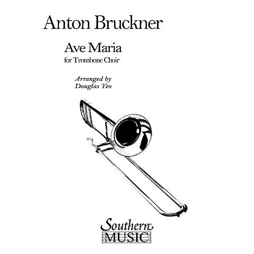 Southern Ave Maria (Trombone Choir) Southern Music Series Arranged by Douglas Yeo