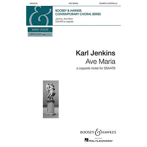 Boosey and Hawkes Ave Maria from Adiemus: Songs of Sanctuary (SSAATB a cappella) SSAATB composed by Karl Jenkins