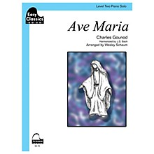 SCHAUM Ave Maria (gounod-bach) Educational Piano Series Softcover