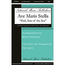 National Music Publishers Ave Maris Stella SSA composed by Tom Cuffari