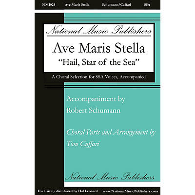 National Music Publishers Ave Maris Stella SSA composed by Tom Cuffari