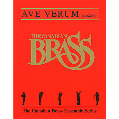 Hal Leonard Ave Verum (Score and Parts) Brass Ensemble Series by Wolfgang Amadeus Mozart