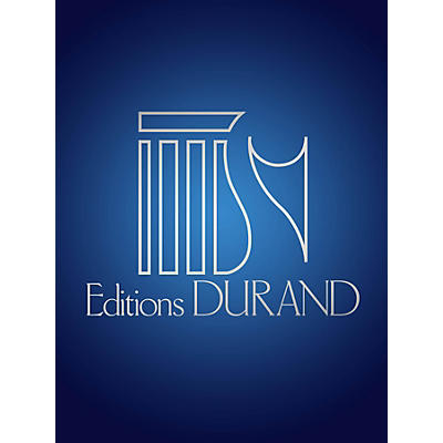 Editions Durand Ave Verum in D Major for 2 Sopranos, 2 Contraltos, Horn and Organ (Chorus parts) by Camille Saint-Saëns